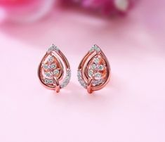 jewelry diamond earrings When remodeling your kitchen, it is also advised that you keep aware of Gold Earrings For Kids, Small Earrings, Jewelry Design Earrings, Gold Earrings Designs, Diamond Earrings Indian, Diamond Stud Earrings, Cuff Earrings, Diamond Jewelry, Fancy Jewellery