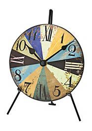 Table Clock AMS 1164 from wholesale and import Triangle Mirror, Analog Alarm Clock, Wooden Mantel, London Clock, Recycled Brick, Desktop Clock, Brick Molding, Tabletop Clocks, Mantle Clock