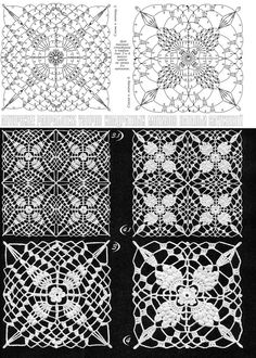 Breathtaking Crochet So You Can Comprehend Patterns Ideas. Stupefying Crochet So You Can Comprehend Patterns Ideas. Filet Crochet, Crochet Art, Crochet Diagram, Thread Crochet, Irish Crochet, Crochet Doilies, Crochet Stitches, Crochet Motif Patterns, Crochet Blocks