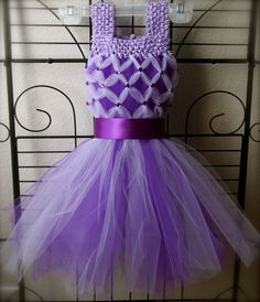 Spring Easter Tutu Dress by ManaiaBabyDesigns on Etsy, $42.00