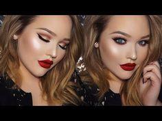 ADELE Classic Glam 2016 BRIT Awards Inspired Makeup Tutorial - YouTube
