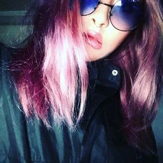 WEBSTA @ xx_madonna_xx - 💜💜💜..#selfie #selfietime #fashionblogger #fashiondiaries #fashion #ootd #purple #manicpanic #nike #make #lips #la #セルフカラー #海外セレブ #海外ファッション #パープルヘアー #マニックパニック #グラデーションカラー #外国人風グラデーションカラー #オシャレ #fitness #girls #gosipgirl #follow4follow #followforfollow #like4like