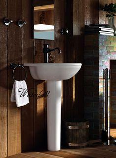 Retro koupelna, vodovodní baterie Sole  http://www.water-fall.cz/cz/koupelnove-baterie-luxusni-kuchynske/koupelnove-serie/sole/