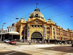 #flindersstreetstation #melbourne #australia #2016