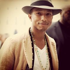 Pharrell Williams - I love him on The Voice. He is so sweet and kind. The positive energy he brings to the world is even greater than his talent!