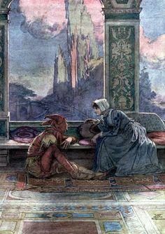 William Heath Robinson - Shakespeare's Twelfth Night - 1900
