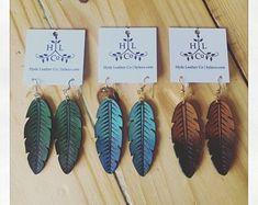 Handmade black earrings Handmade jewelry Crochet earrings Gift for her Accessories for women Crochet jewelry Summer earrings - Custom Jewelry Ideas Black Earrings, Leather Earrings, Statement Earrings, Women's Earrings, Jewelry Crafts, Handmade Jewelry, Handmade Leather, Earring Crafts, Fall Jewelry