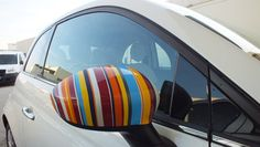 or just wrap the mirror with Paul Smith stripes