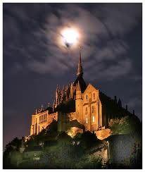 Dusk Mont St Michel