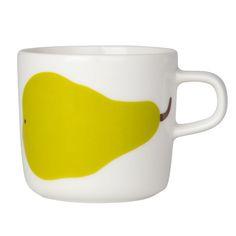 Päärynä coffee cup by Marimekko.