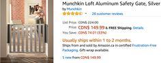 Amazon Canada Deals: Save 60% on Waterproof Zippered Pillow Cover & 33% on Munchkin Loft Aluminum Safety Gate http://www.lavahotdeals.com/ca/cheap/amazon-canada-deals-save-60-waterproof-zippered-pillow/215293?utm_source=pinterest&utm_medium=rss&utm_campaign=at_lavahotdeals
