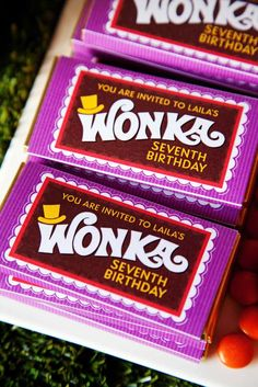 Willy Wonka and the Chocolate Factory Birthday Party Ideas | Photo 3 of 13