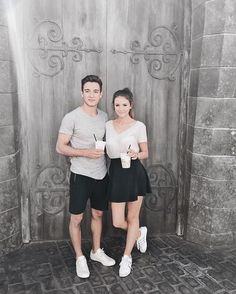 Gabriel Conte and Jess Bauer aka the cutest engaged couple like ever