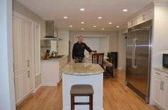 We knew our kitchen renovation would be put to the test by a passionate home cook. See how our new kitchen renovation & design a great success! Kitchen Renovation Design, Kitchen Renovations, Kitchen Design, New Kitchen, Construction, Table, Furniture, Home Decor, Building