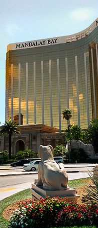 Mandalay Bay Hotel. Las Vegas. Lets cross another off our list!