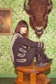 Buffalo Fringe Jacket