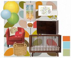 Little Red Bus: aspire to inspire: Baby Boy Nursery Inspiration with Marie