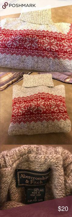 Child's Sweater Boys 100% Shetland wool sweater. Abercrombie & Fitch Sweaters Cowl & Turtlenecks
