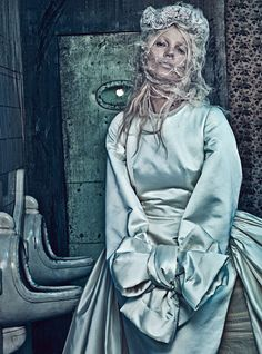 Ma Cherie, Dior: Kate Moss in W Magazine by Steven Klein