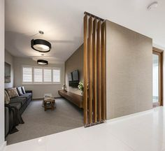 HOME THEATRE - Harmony Premier with Modern 2 Façade on display at Marsden Park Home Theater Rooms, New Home Builders, New Home Designs, Investment Property, Interior Architecture, Facade, Theatre, New Homes, House Design