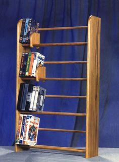400 Series 160 DVD Dowel Multimedia Storage Rack