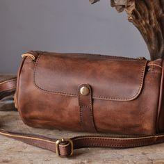 Leather messenger work bag ,genuine leather messenger bag (su10)