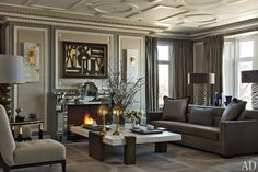 A Chicago Apartment with French Flair : Interiors + Inspiration : Architectural Digest
