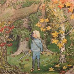 Elsa Beskow Illustrations   Images anciennes (enfants) (178)
