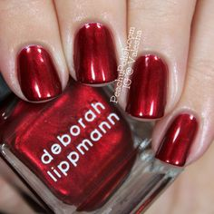 Deborah-Lippmann-Sexy-Mama - perfect holiday red?