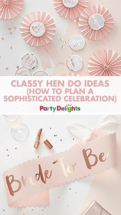 Looking for non-tacky hen party ideas? You're in the right place! Read our classy hen do ideas to find out how to throw a classy hen party with classy decorations, hen party games and accessories.