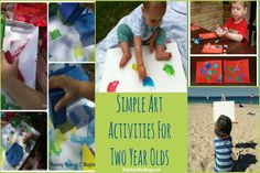 Two year olds are having fun {30 activities}
