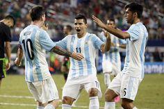 Argentina rescató agónico empate ante México - En un amistoso previo a lo que serán las eliminatorias rumbo a Rusia 2018, Argentina y México se enfrentaron en el AT&T Stadium de Estados Unidos. E...