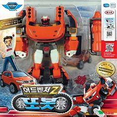 Tobot Adventure Z Transformer Robot Transforming Car Toy TV Animation Figure for sale online Transformers Cars, Transformers Action Figures, Robot Action Figures, Robots Characters, Kia Motors, Figure Photo, Custom Lego, Monster Trucks, Animation