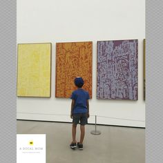 Exploring Downtown Los Angeles with my kid - from riding the Metro to touring The Broad museum.