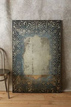 Dissolved Lace Mirror | Anthropologie