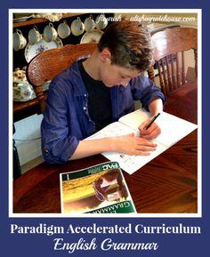 Paradigm Accelerated Curriculum - English Grammar review | Flourish | alishagratehouse.com
