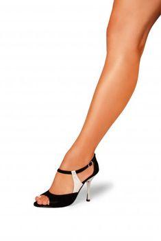 sandalias mujer tango bicolor