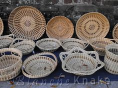 *****Stars Sweet Grass Baskets - I bought a small basket with a handle at the Hopsewee Plantation in South Carolina. You can also buy at road side stands and street festivals.