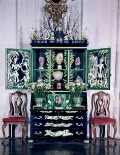 THE ELSIE DE WOLFE CABINET BY TONY DUQUETTE C. 1941