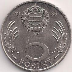 Wertseite: Münze-Europa-Mitteleuropa-Ungarn-Forint-5.00-1983-1989