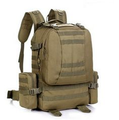 Fish On Fishing Hook Sport or Travel Army Heavyweight Cotton Canvas Duffel Bag