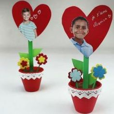 valentine decorations 525865693993605456 - Source by elodiecouzigou Crafts For Kids, Diy Crafts, Valentine Decorations, Planter Pots, About Me Blog, Valentines, Activities, Parents, Recherche Google