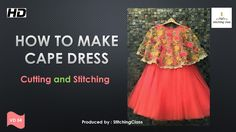 58 ideas for sewing hacks shirts Kids Frocks Design, Baby Frocks Designs, Long Frocks For Kids, Kids Dress Collection, Party Wear Frocks, Cape Gown, Kids Dress Patterns, Frock Design, Dress Tutorials