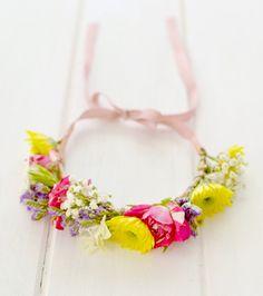 DIY: Flower crown - Corona de flores