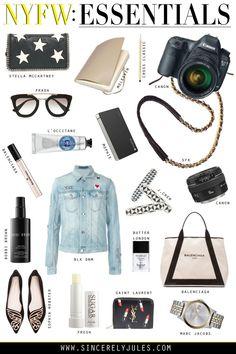 New York Fashion Week: Essentials | Sincerely Jules