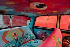 Artsy taxi interiors, and what they tell us about India http://dld.bz/eat9w
