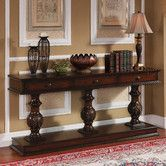 Found it at Wayfair - Console Table in Brown Cherry