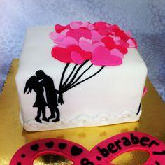 Heart, love cake