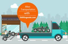 Transportation Bike with Best Packers and Movers