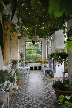 Conservatory, Huntington Castle, Ireland.